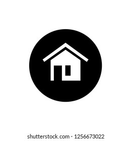 Home Icon. Residential Vector Illustration. Residence Sign & Symbol.