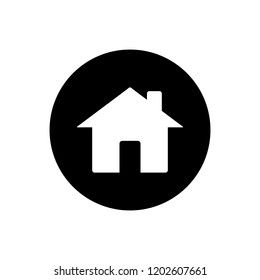 Home icon. Home sign icon. Home Icon in trendy flat style isolated on white background. Homepage symbol for web design.