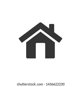 Home icon template black color editable. House symbol vector sign isolated on white background. Simple logo vector illustration for graphic and web design.\n