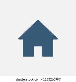 Home icon. Vector
