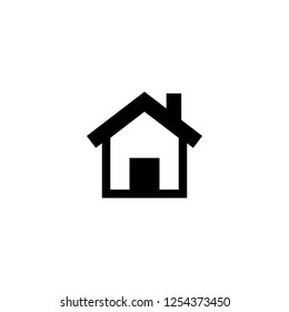 home icon vector. home vector graphic illustration