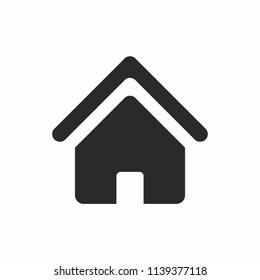 Home Icon, web icon. Vecor