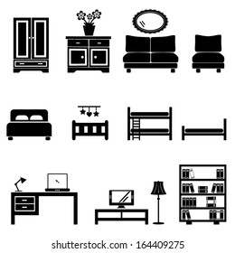 Home icons-furniture