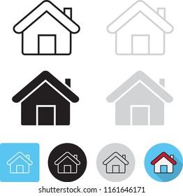 home icon.vector illustration