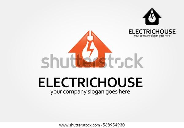 Home Idea Logo Excellent Logo Template Stock Vector Royalty