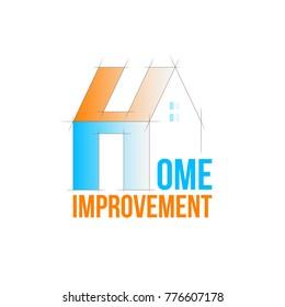 Home improvement logo template.