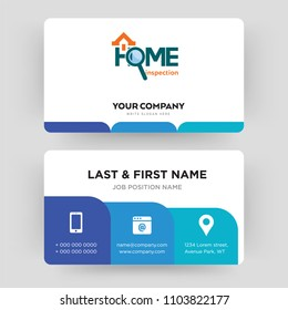 House inspection images stock photos vectors shutterstock home inspection business card design template visiting for your company modern creative and colourmoves