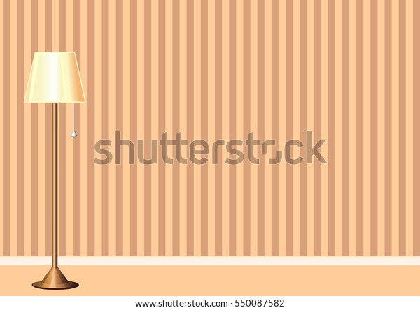 Home Interior Room Template Design Abstract Stock Vector Royalty Free 550087582