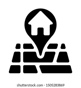home location icon - From property, commercial house and real estate icons, mortgage icons