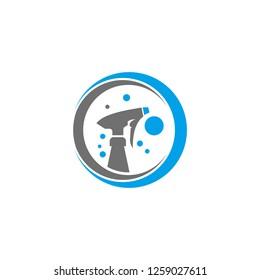 home logo , cleasn logo , home clean logo design , vector , icon