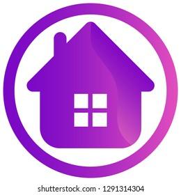 home logo for company, bisiness logo.