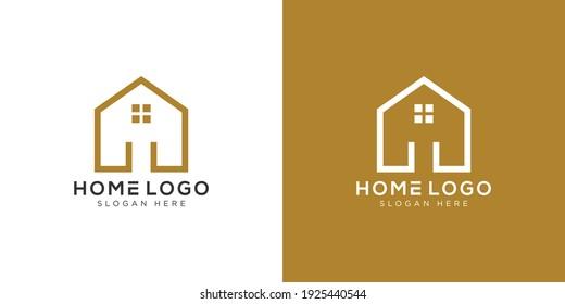 home Logo Design Template vector