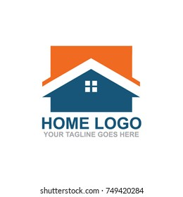 Home logo design template vector sign illustration