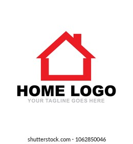 Home logo design vector icon