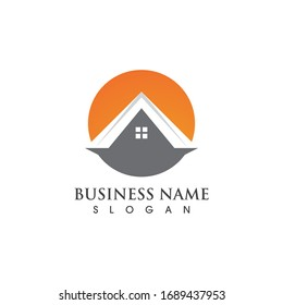 Home logo and symbol vector image
