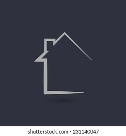Home main page icon for web