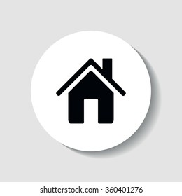 Home page icon in the form of the house.