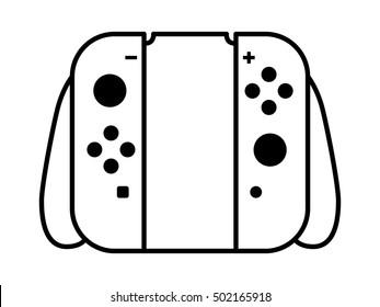 home portable video game controller 260nw