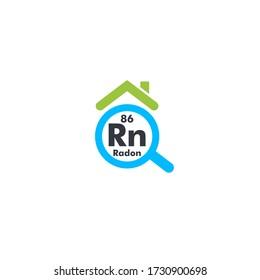 Home radon testing, first alert kit logo.  Run detection