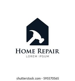 Home Repair Logo Icon Symbol