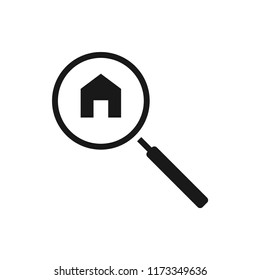 home search vector icon 10 eps