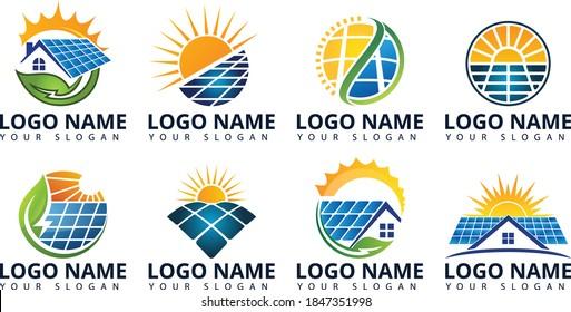 Home Solar Energy Logo Design