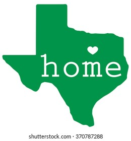 Home state of Texas