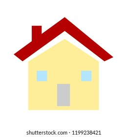 home symbol icon. Simple element illustration. home concept symbol design. Can be used for web and mobile UI/UX