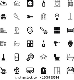 home vector icon set such as: find, paper, teapot, load, mercury, blow, kettle, blueprint, blender, outlet, buy, insurance, blowing, government, pipe, propeller, bake, washing, winter, health, wc