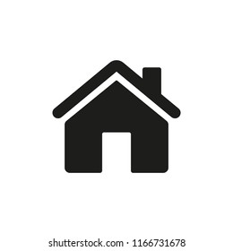 Home Vector Line Icon. House Symbol