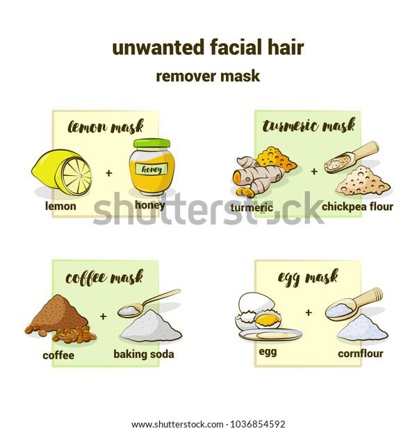 Image Vectorielle De Stock De Masque Fait Maison Pour Enlever Les 1036854592