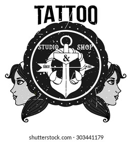 Homemade Tattoo Tshirt Design Old Stock Vector 302870276 ... on coast guard harley shirts, live in cali shirts, chopper posters, motorcycle shirts, west coast choppers shirts,