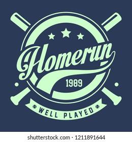 Homerun well played