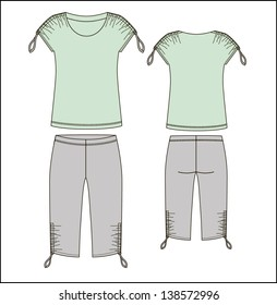 homewear vector