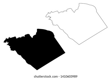 Homs Governorate (Governorates of Syria, Syrian Arab Republic) map vector illustration, scribble sketch Homs map