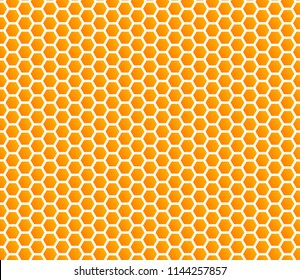 honey comb hexagonal background vector seamless backdrop pattern honeycomb