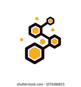 honey comb logo