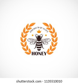 Honey Comb Logo Template Design Vector, Emblem, Design Concept, Creative Symbol, Icon