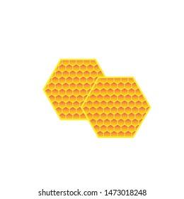 Honey Comb Logo Template Design Vector. Emblem, Design Concept, Creative Symbol,Icon