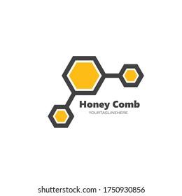 honey comb vector icon illustration design