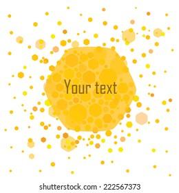 honey frame text