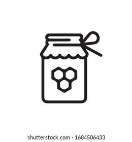 honey icon trendy and modern placeholder symbol for logo, web, app, UI.