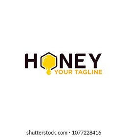 honey logo design for company