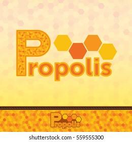 Honey Propolis sticker