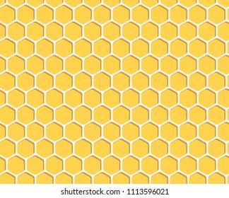 Honeycomb background illustration