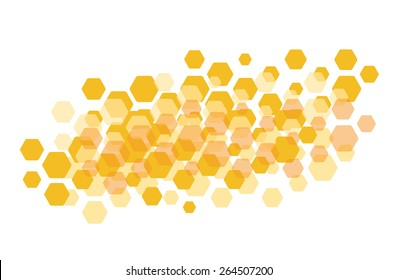Honeycomb background, wallpaper, pattern