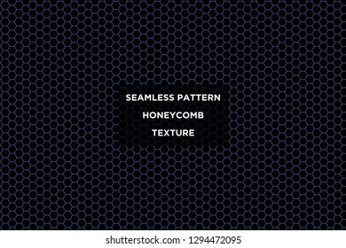 Honeycomb background,gradient seamless hexagons pattern, vector illustration - Vector