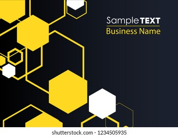 Honeycomb icon. Abstract honeycomb logo vector. Beehive symbol vector. Honey Comb Logo Template Design Vector, Design Concept, Creative Symbol, Icon. Orange abstract  honey background pattern hexagons