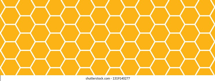 Honeycomb monochrome honey seamless pattern Vector cell cells pattern mosaic background raster fun funny honey bee honeycombs Beehive orange yellow ornament hexagon vintage hexagons geometric shapes
