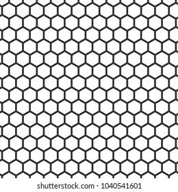 honeycomb pattern back